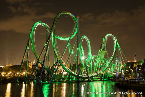 Explore What's New at Universal Orlando: The Incredible Hulk Rollercoaster