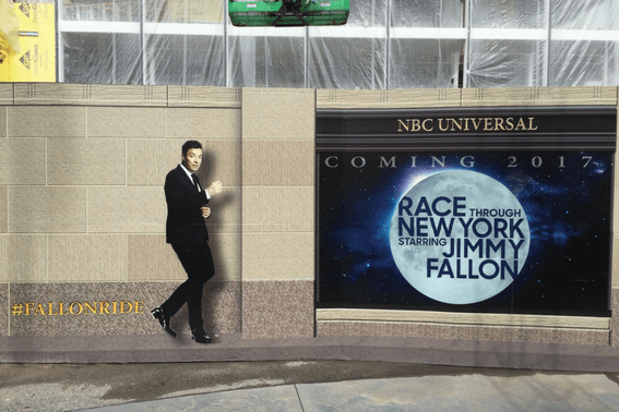 Race through New York with Jimmy Fallon, heading to Universal in 2017