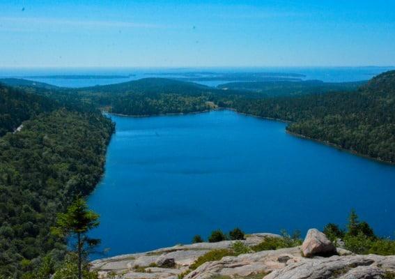 Explore Jordan Pond in Acadia National Park