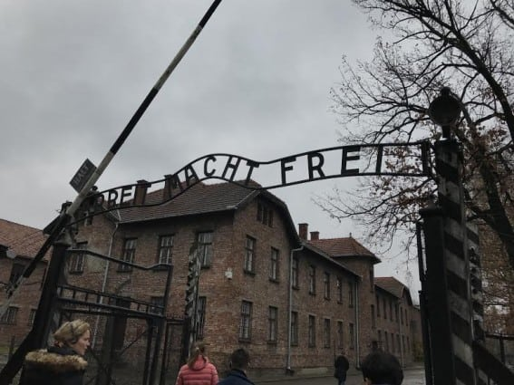Auschwitz and Birkenau Concentration Camps in Poland