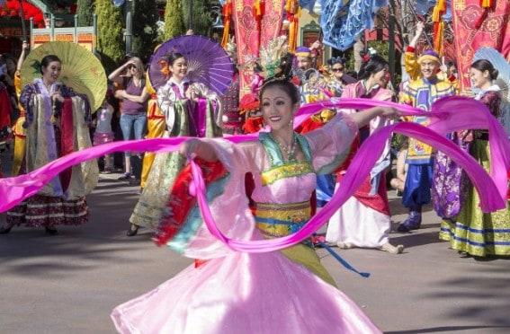 Lunar New Year Entertainment - Disneyland Resort