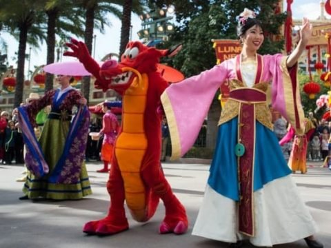 Disneyland Resort Rings in the Lunar New Year with Food, Celebration, and Entertainment
