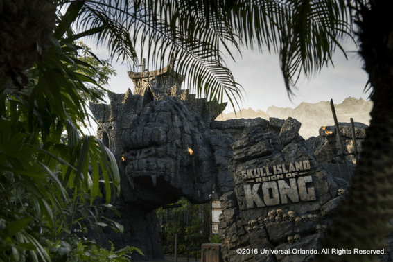 Skull Island: Reign of King Kong, coming new to Universal Orlando