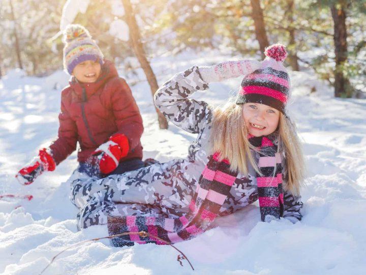 Snow Play Activities that Kids Love