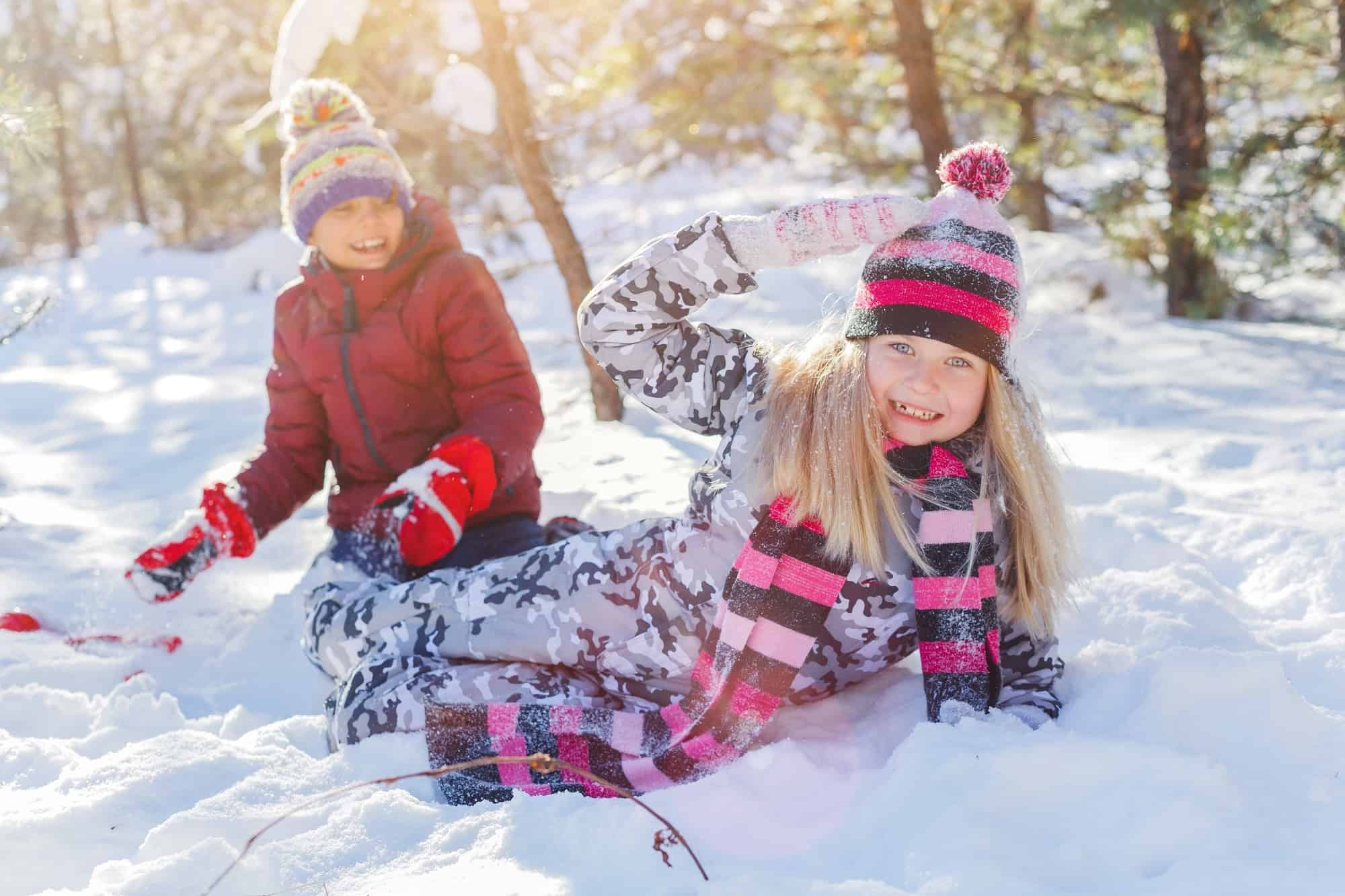Snow Play Activities that Kids Love