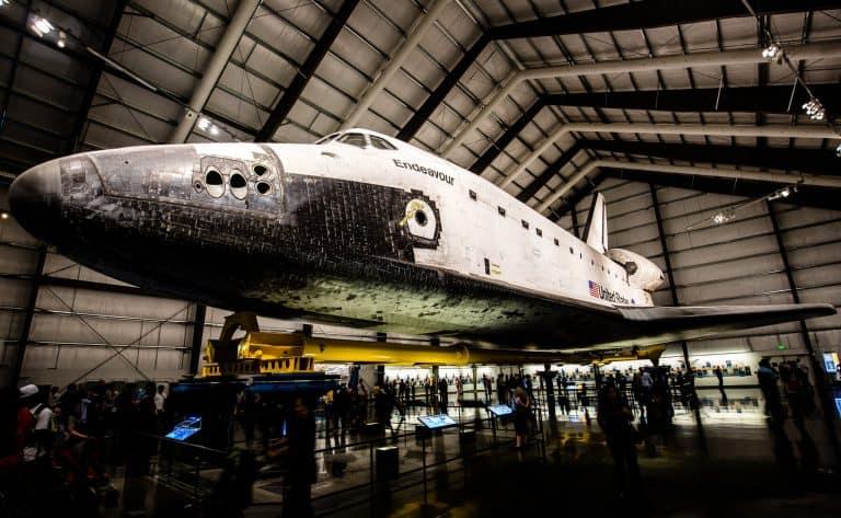 Space Shuttle Endeavor California Science Center