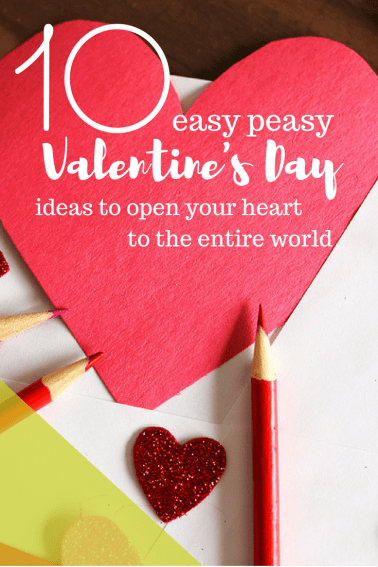 Get some ideas for global good this Valentine's Day with your family.