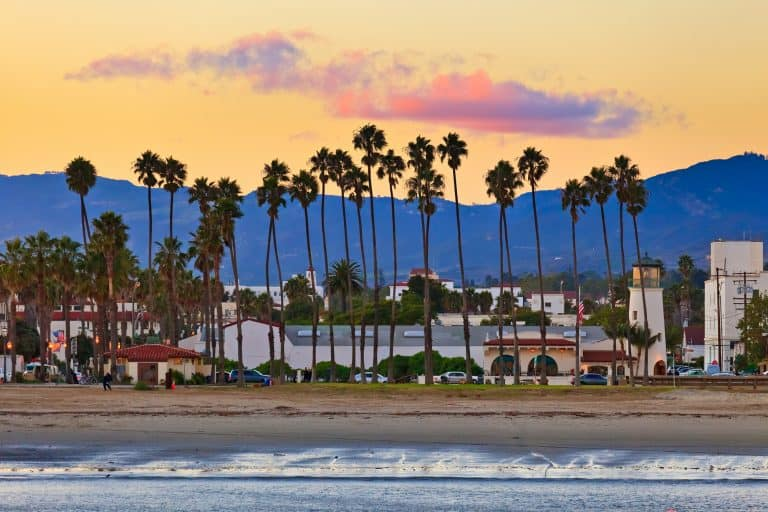 Santa Barbara is a great place to stop on a California Road TRip