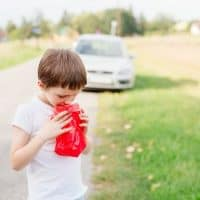 Coping with Motion Sickness on a road trip with kids