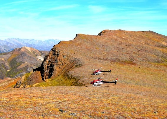 Helicopter tours are an exciting land excursion addition to your Alaska Cruise