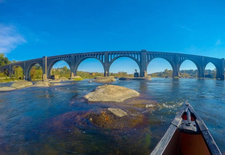 What to Do in Virginia Go Canoeing on the James River in Richmond