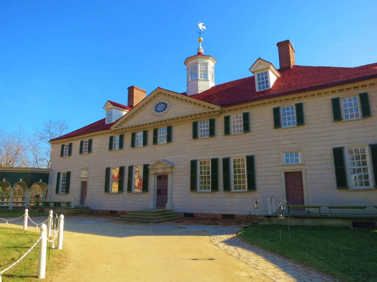 Places to Visit in Virginia Mount Vernon home of George Washington