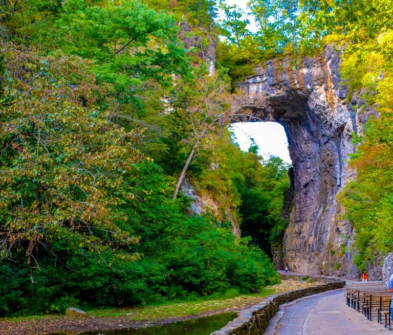 Places to Visit in Virginia Natural Bridge State Park Shenandoah Valley