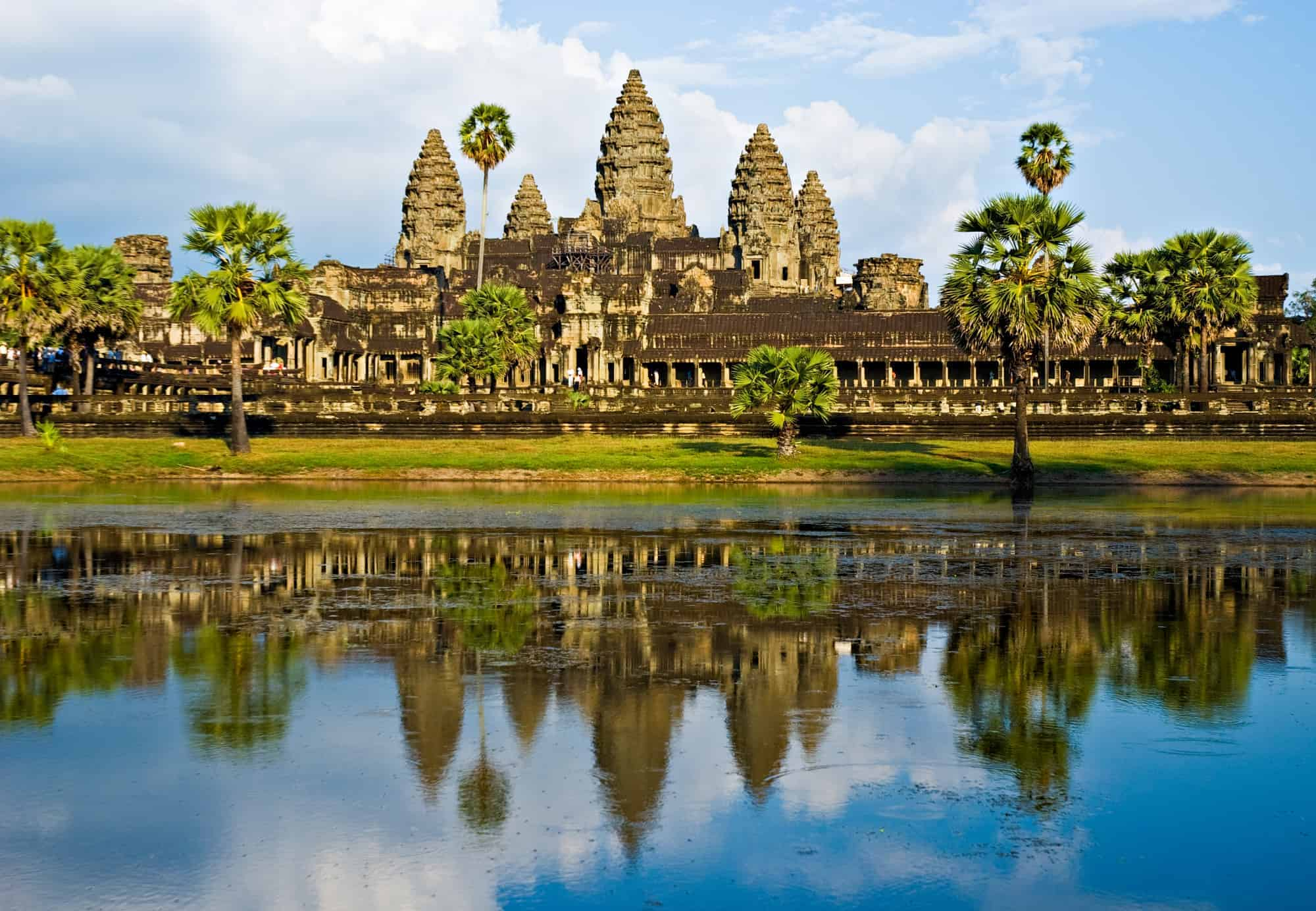 Cambodia: Angkor Archeological Park Through the Eyes of Young Kids