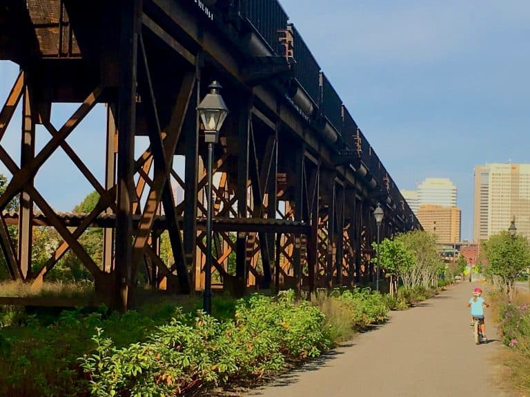 Bike the Capital Trail Things to do in Richmond VA