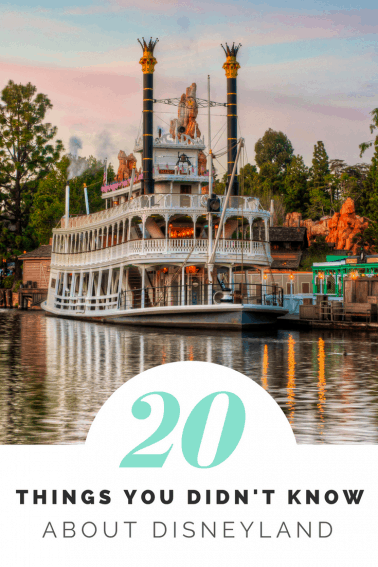 20 Things you didn't know about Disneyland - Insider tips, secrets, and fun Disney trivia