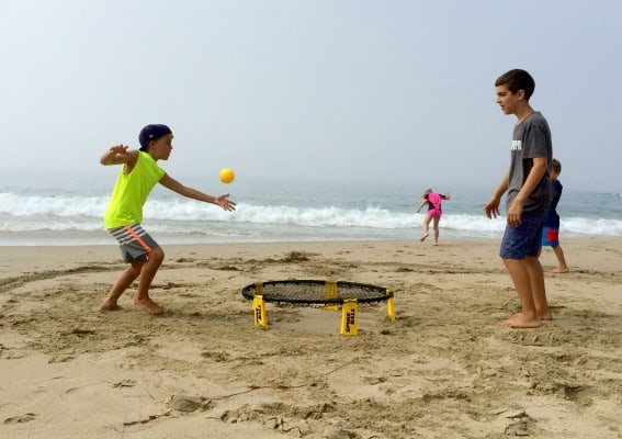 Beach-Games-Spike-Ball-Trekaroo-Michelle-McCoy Games for the beach