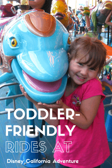 Best Rides for Toddlers at Disney California Adventure