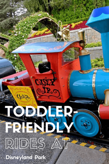 Best Toddler-Friendly Rides at Disneyland