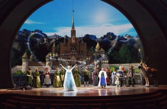 Disney Frozen Live at the Hyperion is a good chance for a rest for preschoolers