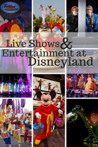 Live Shows & Entertainment at Disneyland