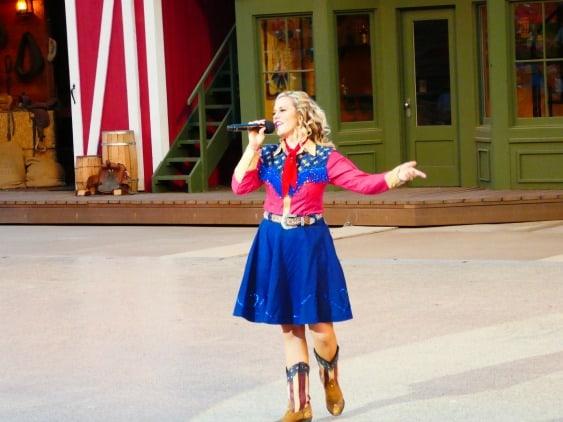 Musical entertainment in Medora, North Dakota