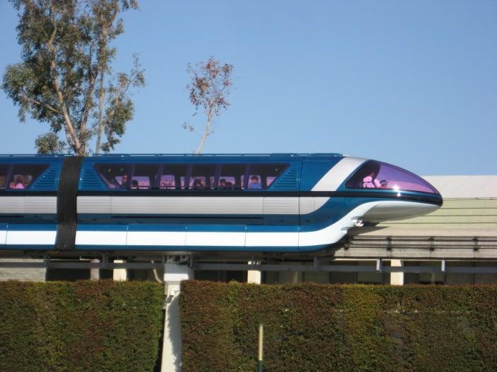 Monorail at Disneyland