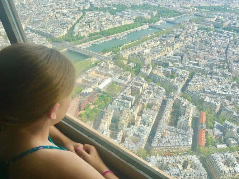 Must do in Paris with Kids Go to the Top of the Eiffel Tower