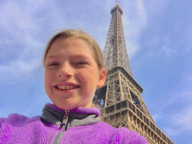 Must see in Paris with Kids the Eiffel Tower