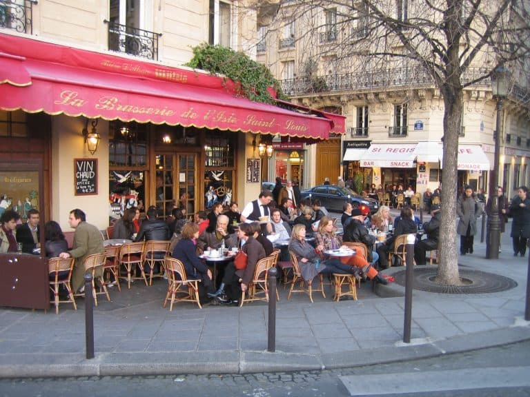 Must do in Paris with Kids Eat at a Cafe