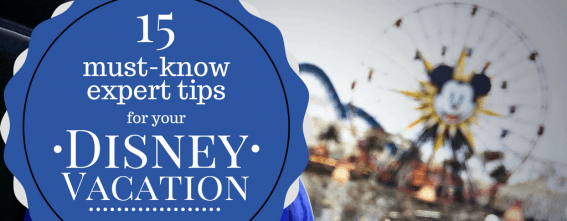 Top 15 Expert Disney Tips for your Disney Family Vacation