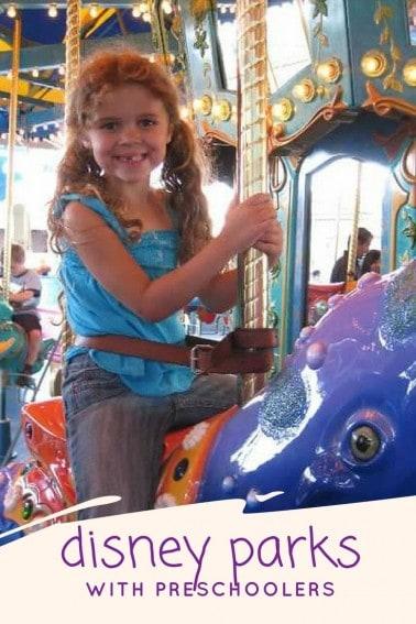 disney parks with preschoolers