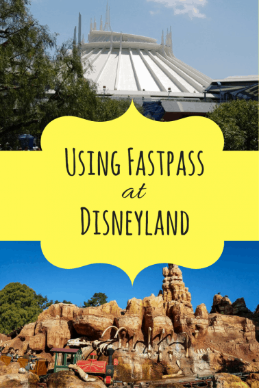Rides that use FASTPASS at Disneyland