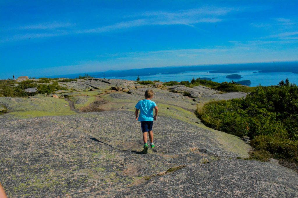 things to do with kids in New England include visiting Acadia National Park