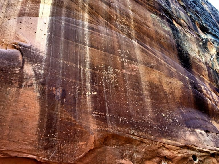 Capitol Gorge Graffiti