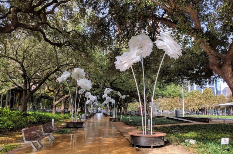 Fun Things to Do in Houston with Kids include visiting Discovery Green