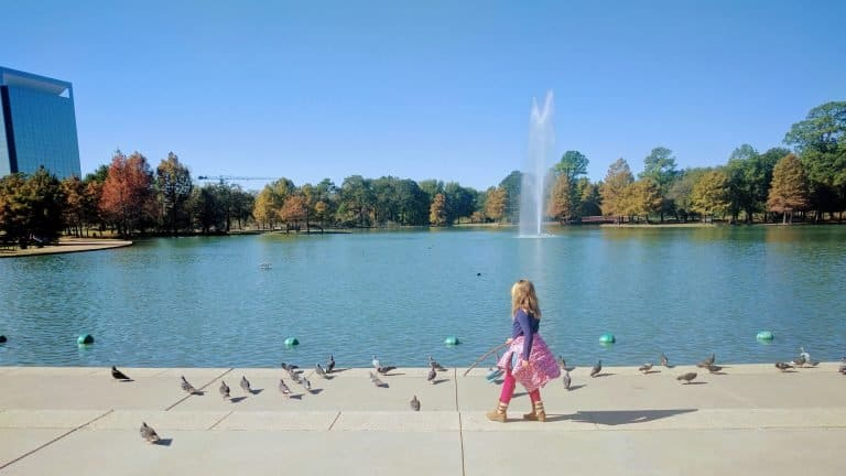 Hermann Park in Houston with Kids