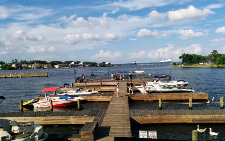 Lake Conroe is a Day trip from Houston