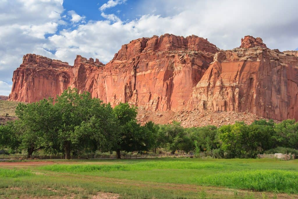 Things to do in Capitol Reef National Park The Castle