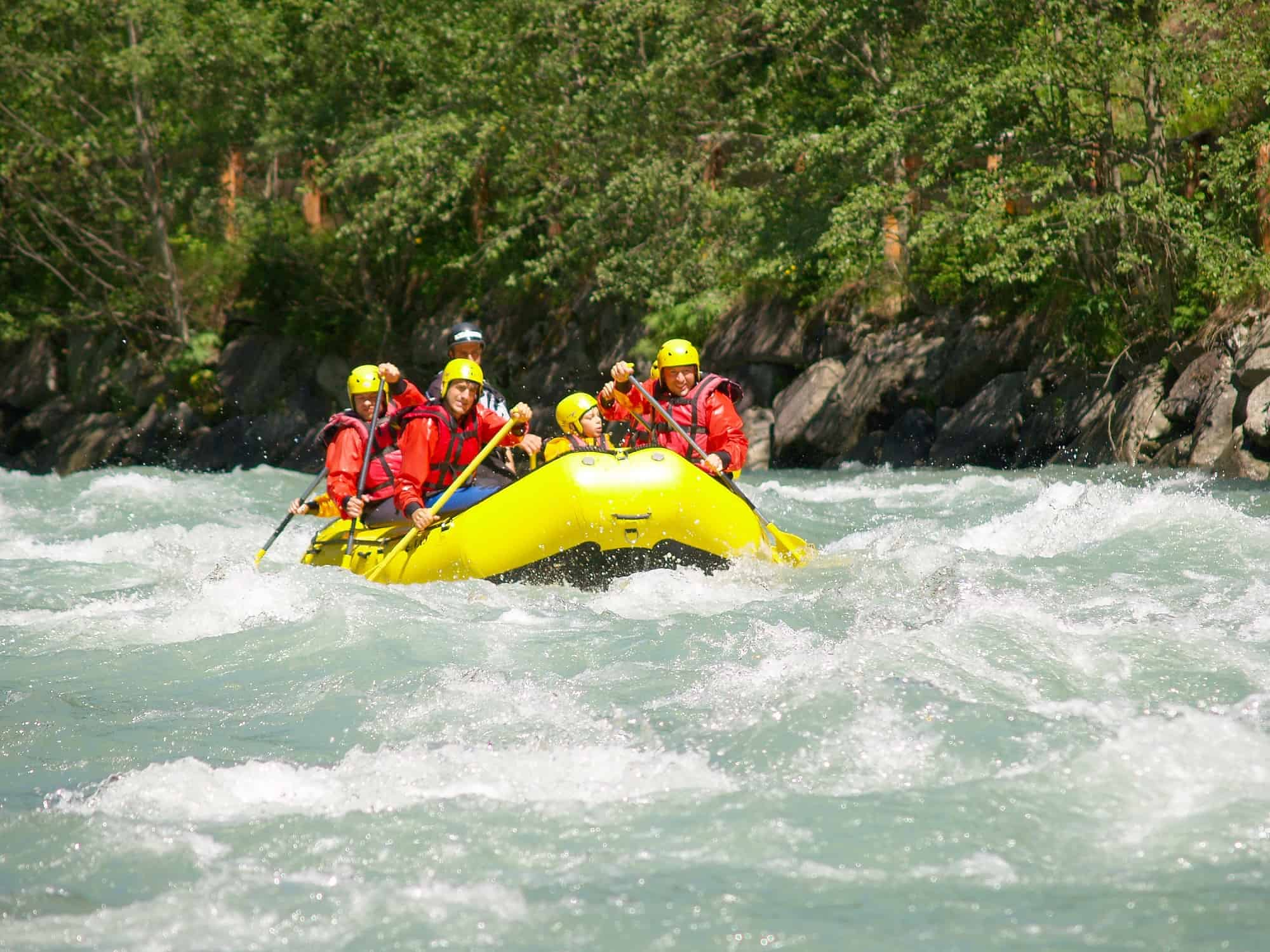 White Water Rafting With Kids in Northern California