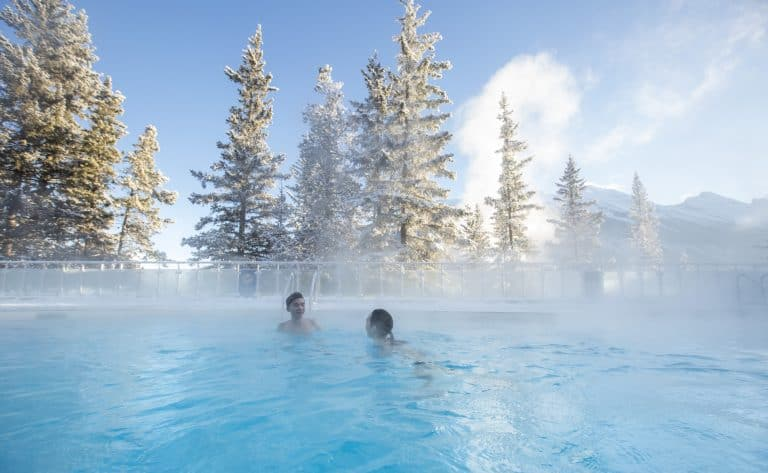 Things to do in banff national park hot springs
