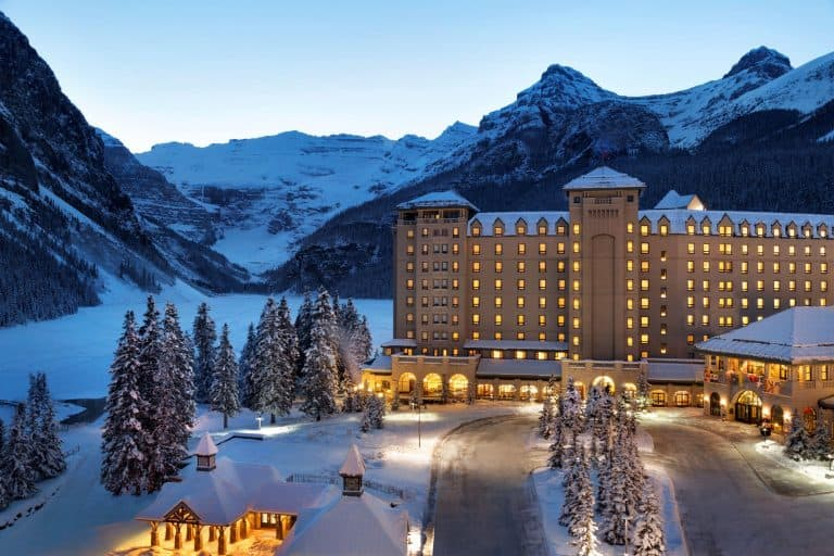 things to do in Banff National park Fairmont Lake Louise