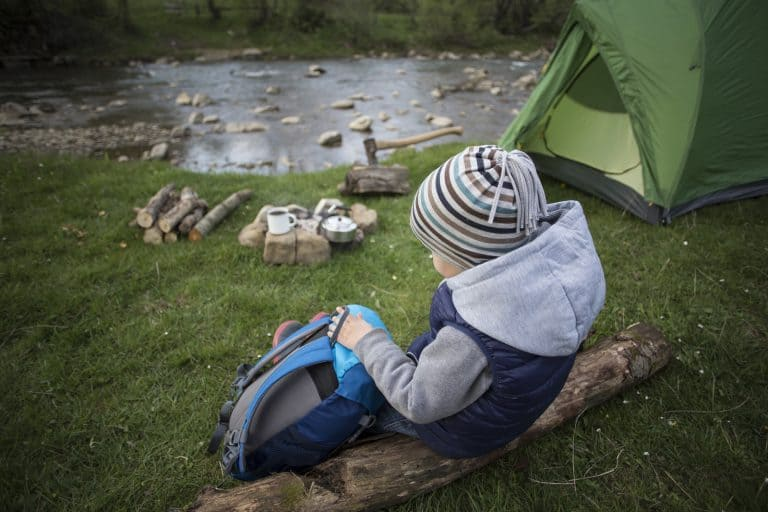 Camping with a toddler can be fun
