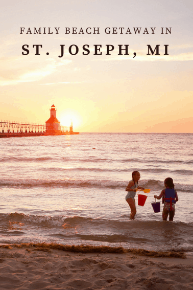 A family beach getaway in St Joseph MI