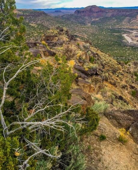 Los Alamos, New Mexico Landscape