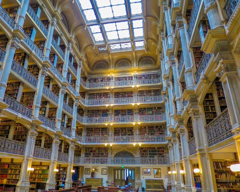 What to do in Baltimore Peabody Library