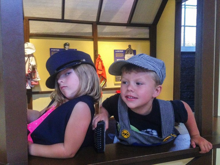 Things to do in Baltimore with Kids B & O Railroad Museum