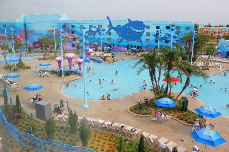 Art of Animation Resort Big Blue Pool