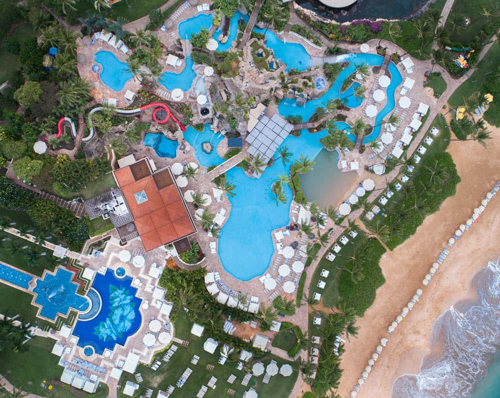 The best Maui resorts for families include the Grand Wailea