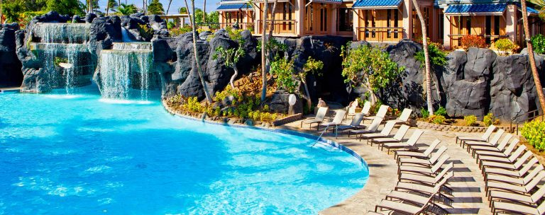 Best Hotel Pools on the Big Island are at the HIlton Waikoloa Village